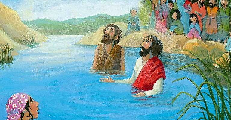 Jesus Wird Getauft